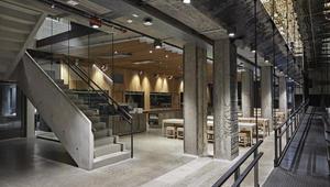 Mills, Mat-og Merkevarehuset, transformasjon, betongbygg, interior, architecture design