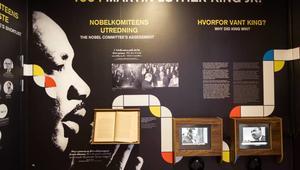 1964 Martin Luther King Jr. på Nobels Fredssenter