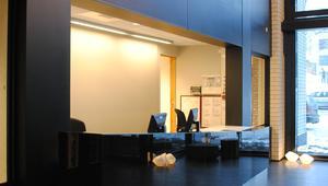 Resepsjon i kontorlokaler, Lysaker