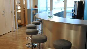 Kontor fellesarealer / kafebar område og lounge