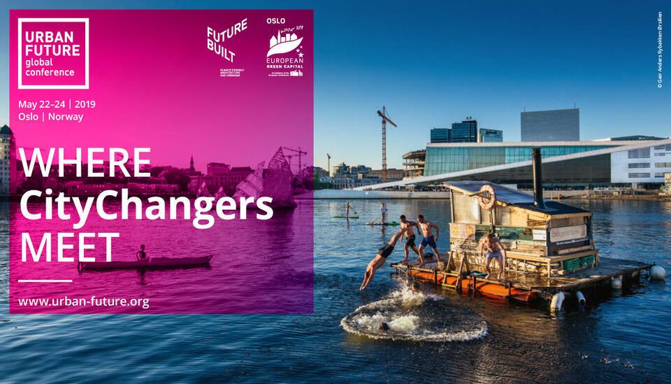 Verdens mest entusiastiske CityChangers møtes i Oslo i mai 2019