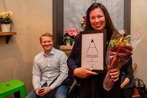 Anne Alnæs' studentpris 2018 ble vunnet av Susanne Sagstad-Notøy fra KMD ved UiB