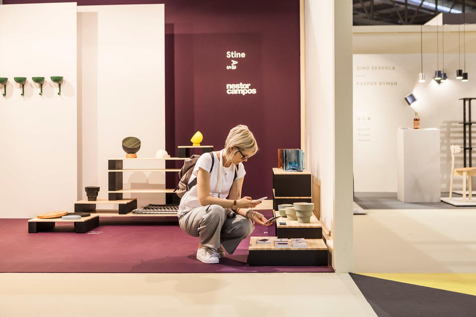 Stine Aas, rapport fra Salone Satellite, Milano-messen 2017