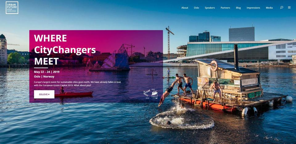 NIL er nettverkspartner i Urban Future Global Conference 2019