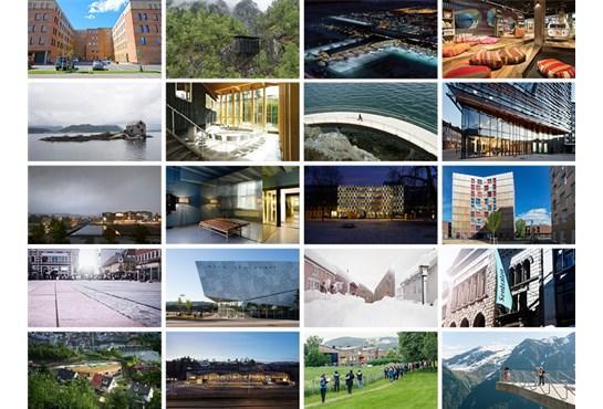 De 20 finalistene til Arkitekturprisen 2017