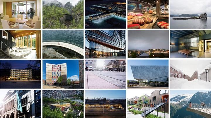 Det er foreløpig jevnt blant favorittene til Arkitekturprisen 2017. Din stemme kan være avgjørende!  Frist 4. september.