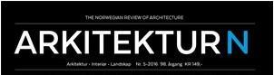 NIL søker etter redaksjonelle interiørarkitektmedarbeidere til Arkitektur N 2017 -