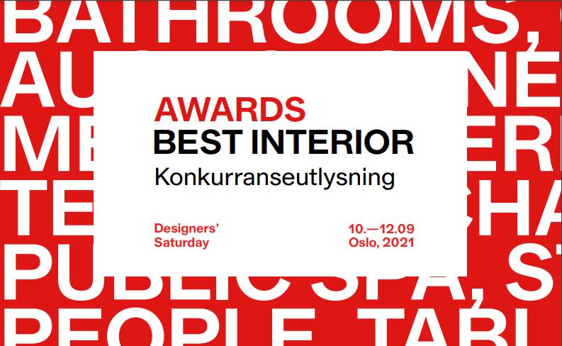 DS Best Awards Interior 2021, frist 15. august (endret)