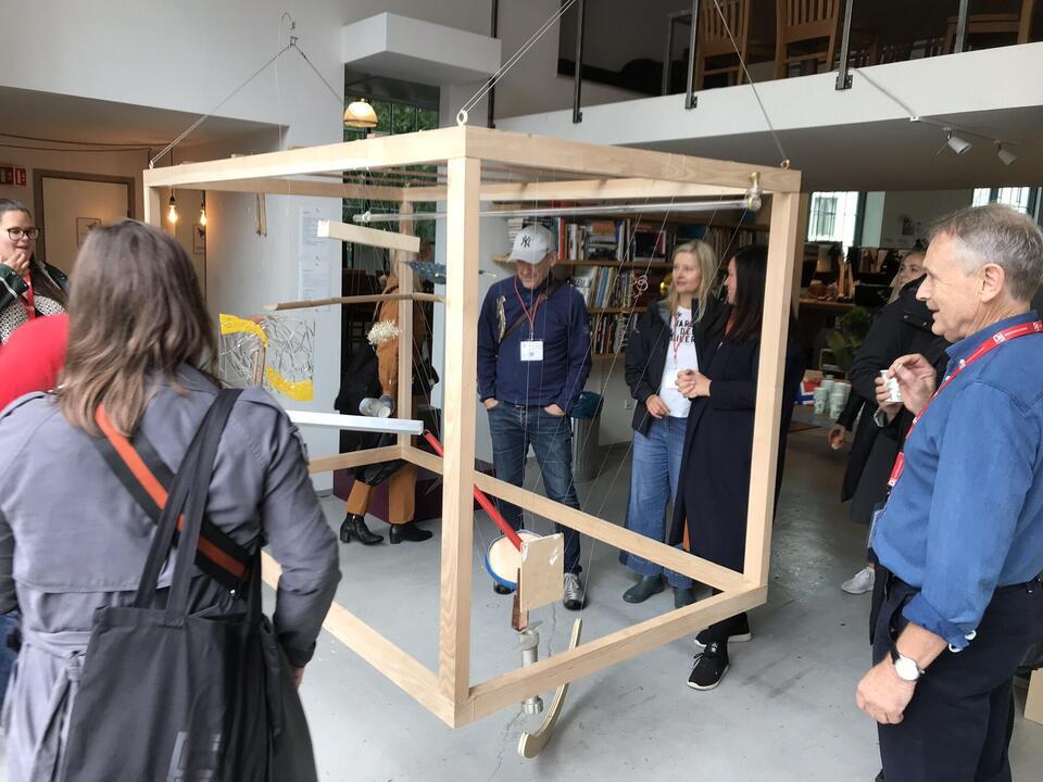 Designers' Saturday 2019 ble en suksess for Møbelgruppen i NIL