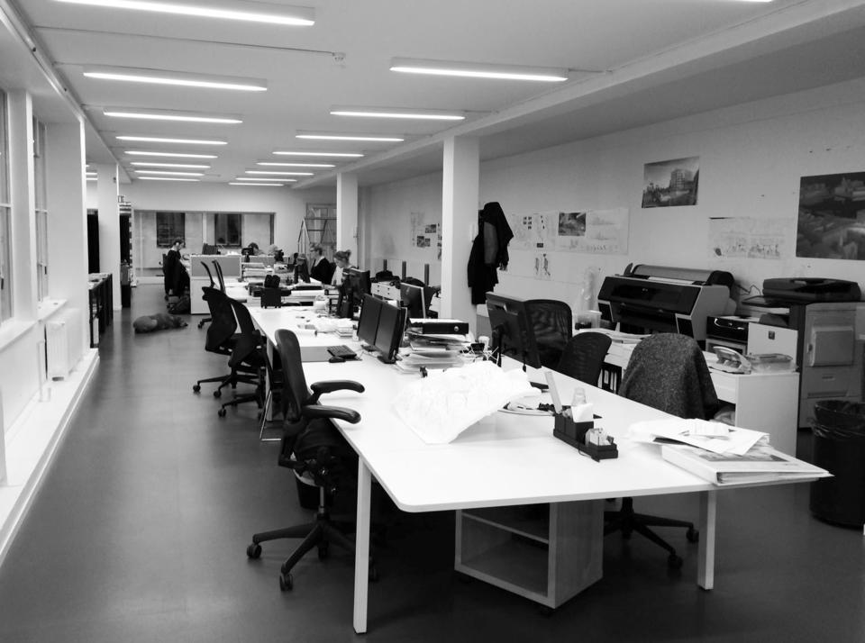 Ledige plasser i kreativt kontorfellesskap