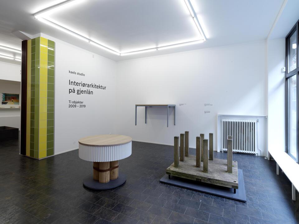Finissage og omvisning 17. okt. : Kaels Studio - Interiørarkitektur på gjenlån, RAM galleri