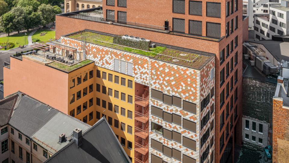 Kristian Augusts gate 13 ble tildelt Statens pris for byggkvalitet 2021