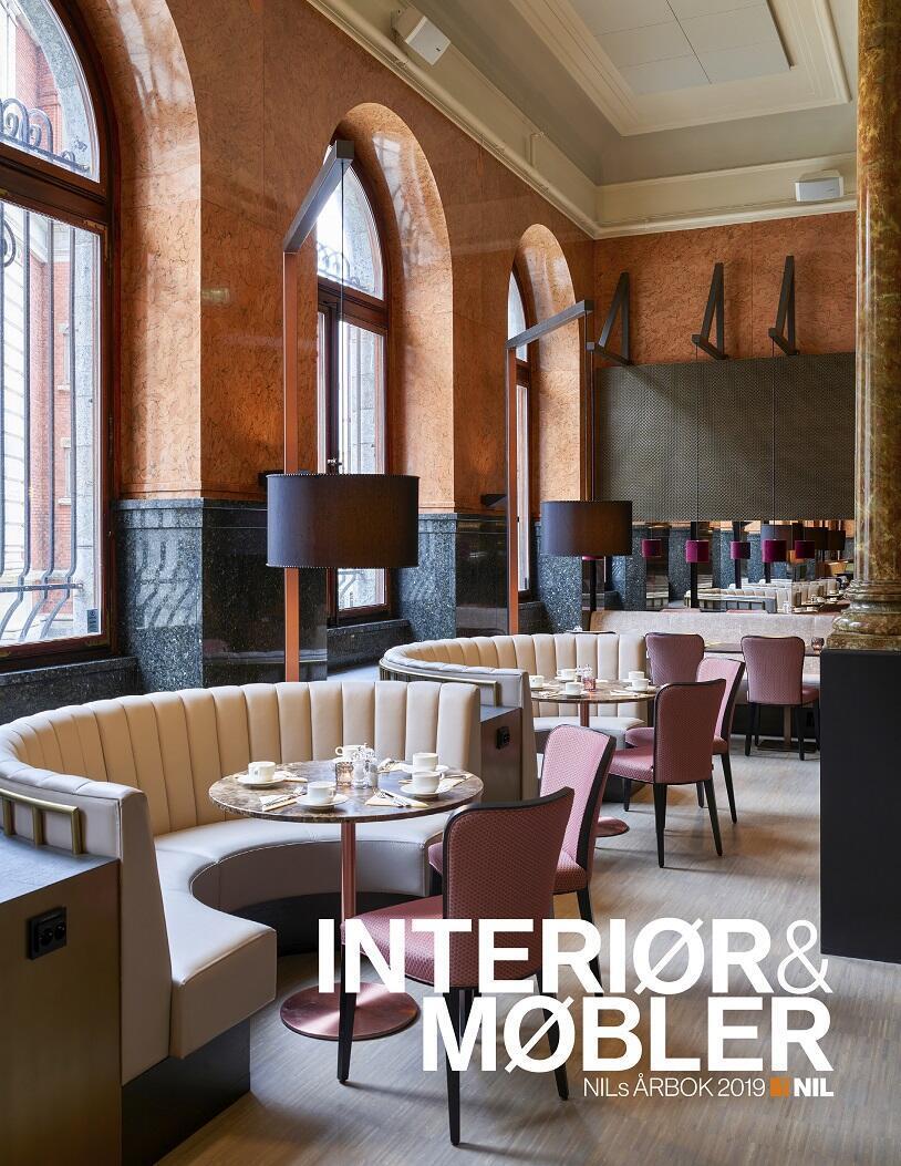 NILs årbok INTERIØR&MØBLER 2019 ble lansert på Bar Babel 27. august
