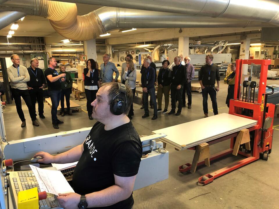 Møregruppen og MAF inviterte til minimesse på Åndalsnes