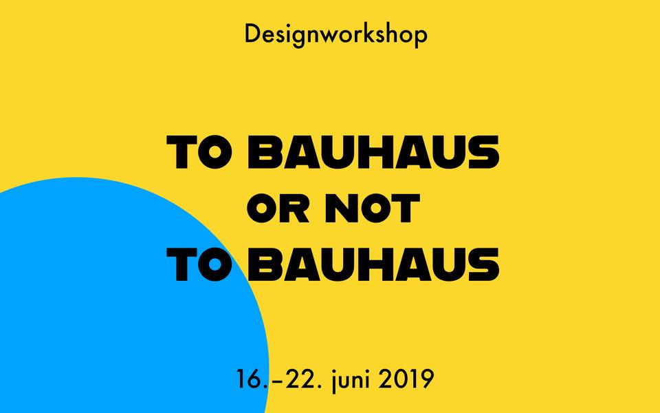 Designworkshop i Bergen 16. - 22. juni 2019. Frist 15. april.