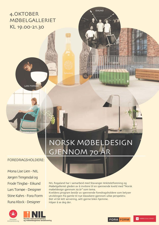 NIL Rogalandgruppen: Norsk møbeldesign gjennom 70 år